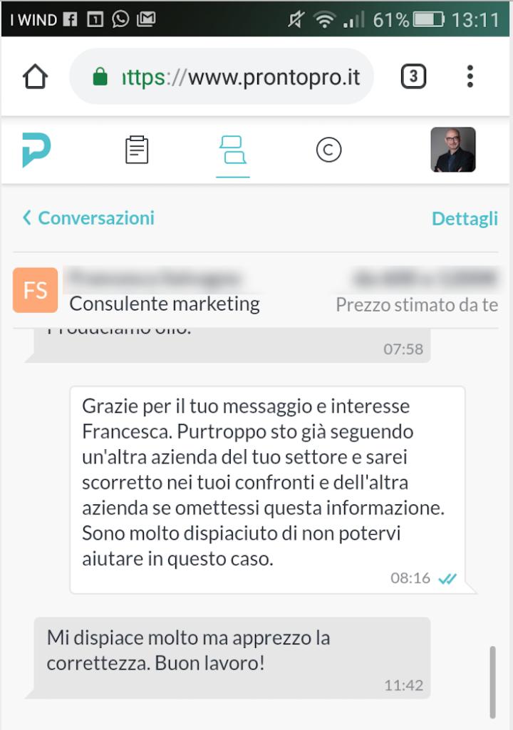 Acquisire-Clienti-messaggio-Pronto-Pro